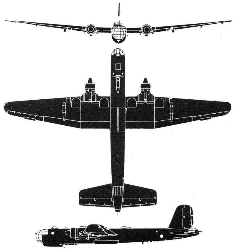 विंकेल He 177। हिटलर का एकमात्र लंबी दूरी का बमवर्षक
