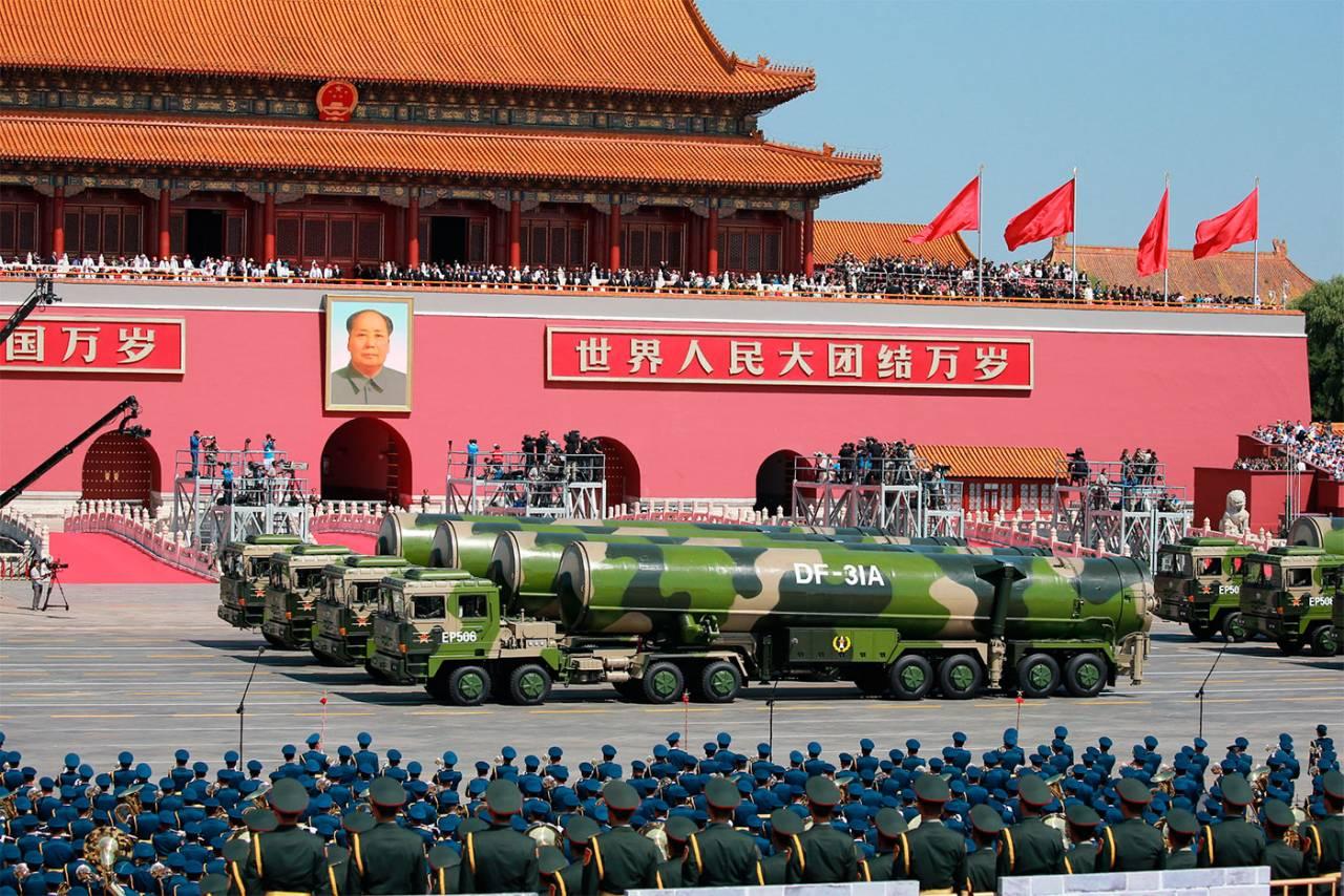 China mostrará no desfile um novo míssil capaz de chegar aos Estados Unidos