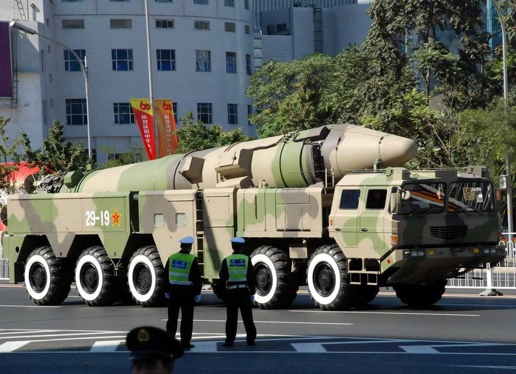 Míssil balístico intercontinental Dongfeng-26 do Exército de Libertação Popular da China