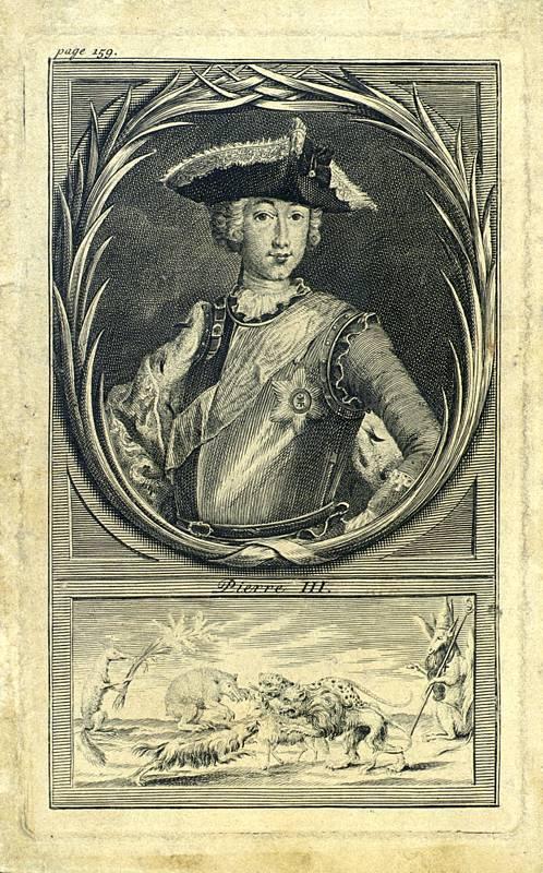 Император Пётр III. Заговор