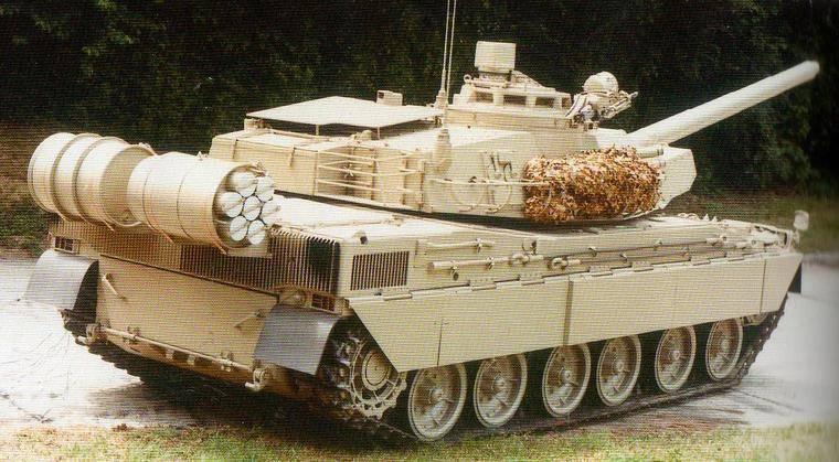 안과 밖. 탱크 외부 탄약의 프랑스 프로젝트