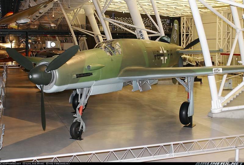 战斗机。 长箭:Dornier Do.335