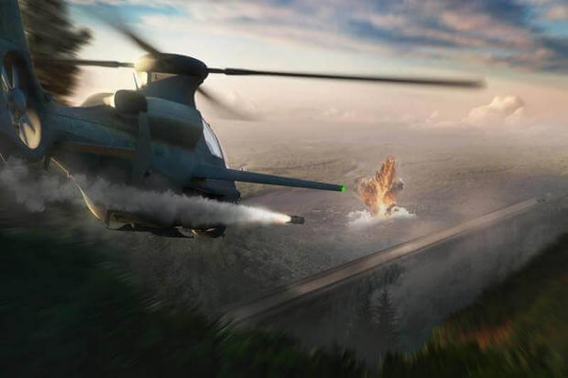 """美国贝尔介绍了直升机的""""未来"""""""