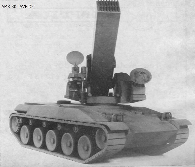 AMX Javelot: ракетная система залпового огня для уничтожения авиации
