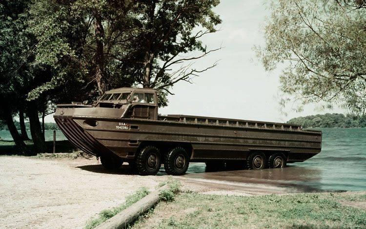 两栖传送带XM-158 Drake。 德雷克取代鸭子