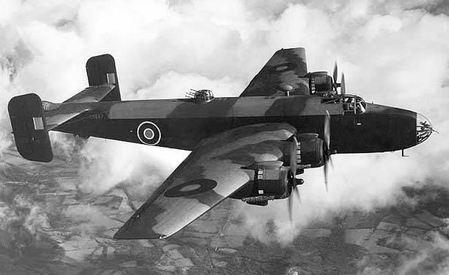 दूसरे विश्व युद्ध का हथियार। भारी बमबारी