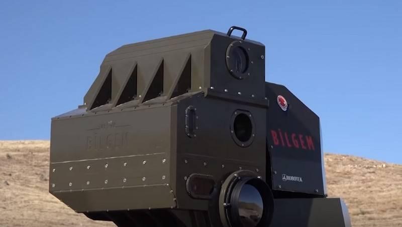 Los turcos probaron su propio sistema láser de combate
