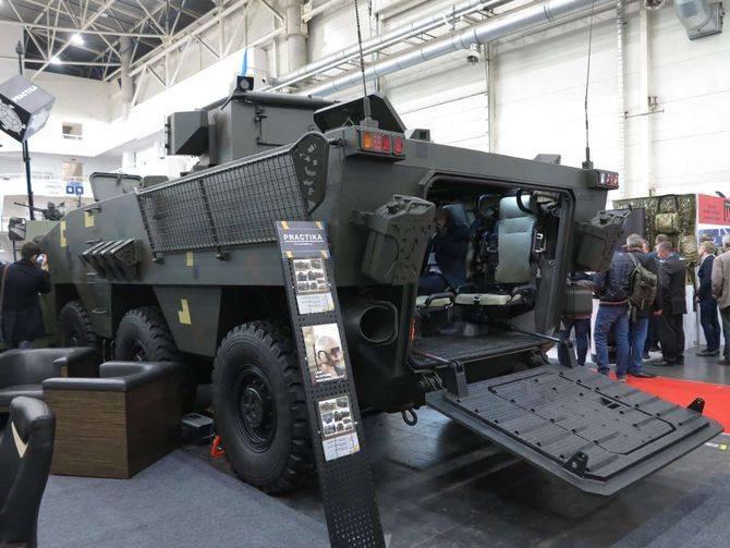 """失敗または見通し? BTR"""" Otaman-3""""(ウクライナ)"""