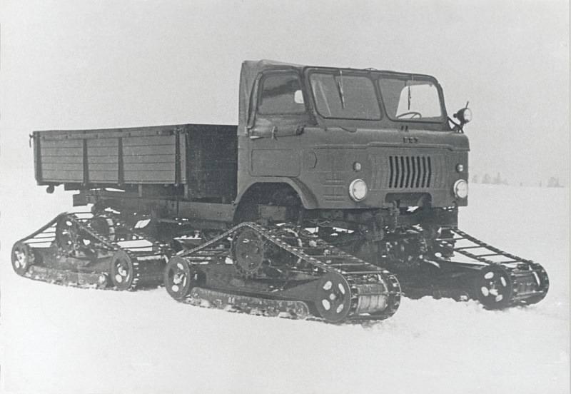 GAZ-66:战争与实验