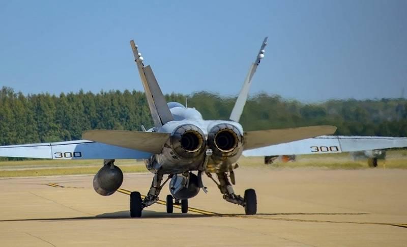 "The last ""Hornet"" US Navy made its farewell flight"