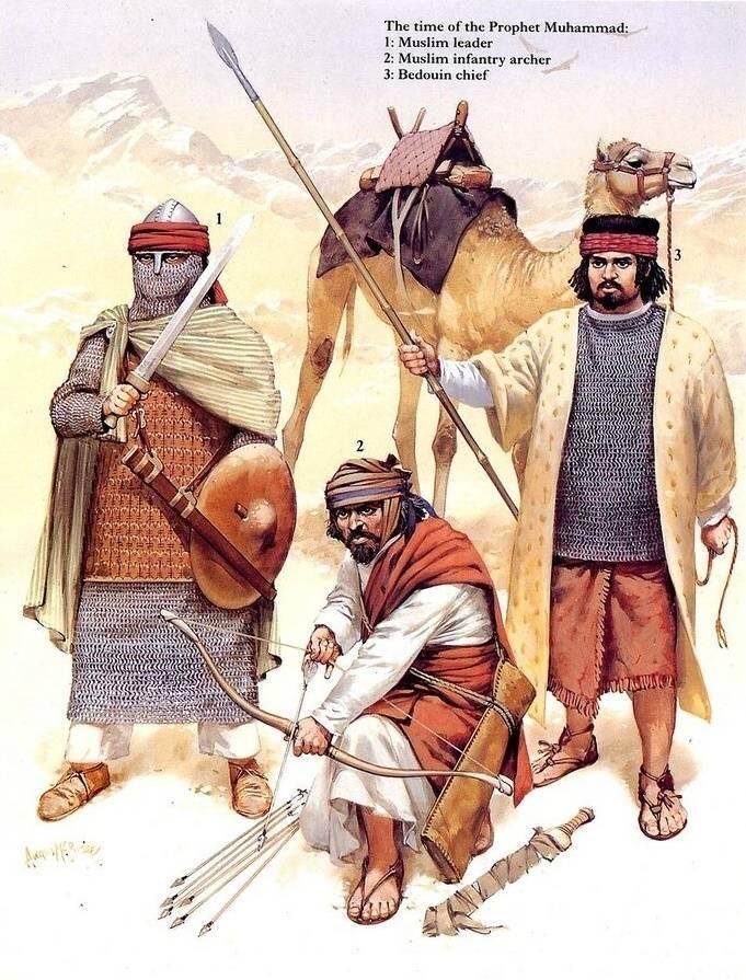 उत्तरी अफ्रीका के योद्धाओं 1050-1350