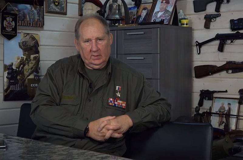 Ex-comandante do destacamento das forças especiais Vityaz sobre os eventos de outubro 1993 em Moscou