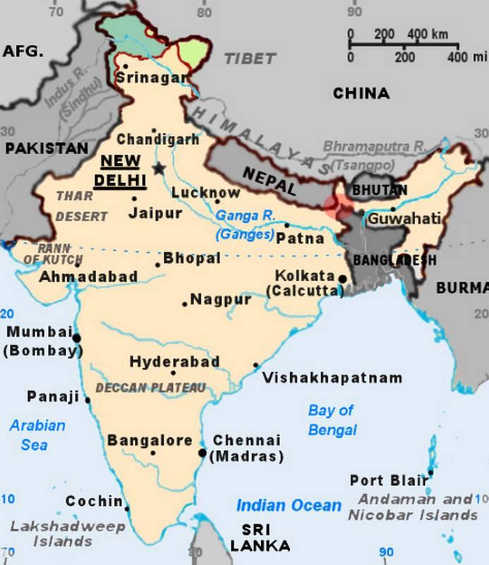 """Hindistan'da, ülkenin savunmasının """"Aşil topuğu"""" denir."""