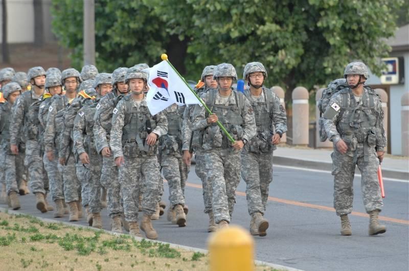 Южная Корея начинает сокращение вооруженных сил