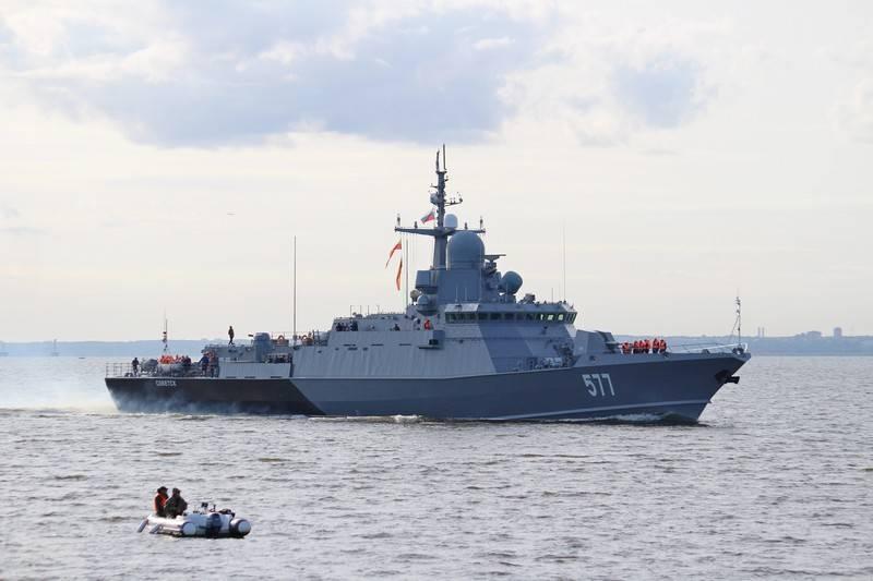 """Das RTO """"Sovetsk"""" -Projekt 22800 Karakurt wurde Teil der Baltischen Flotte"""