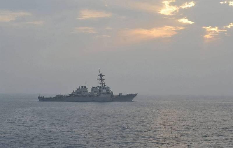 ब्लैक सी फ़्लीट के जहाजों को ब्लैक सी में यूएस नेवी पोर्टर के विध्वंसक द्वारा बचाया गया था