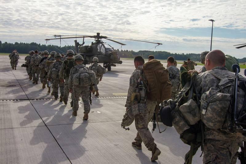 В НАТО анонсировали самое крупное развёртывание армии США в Европе