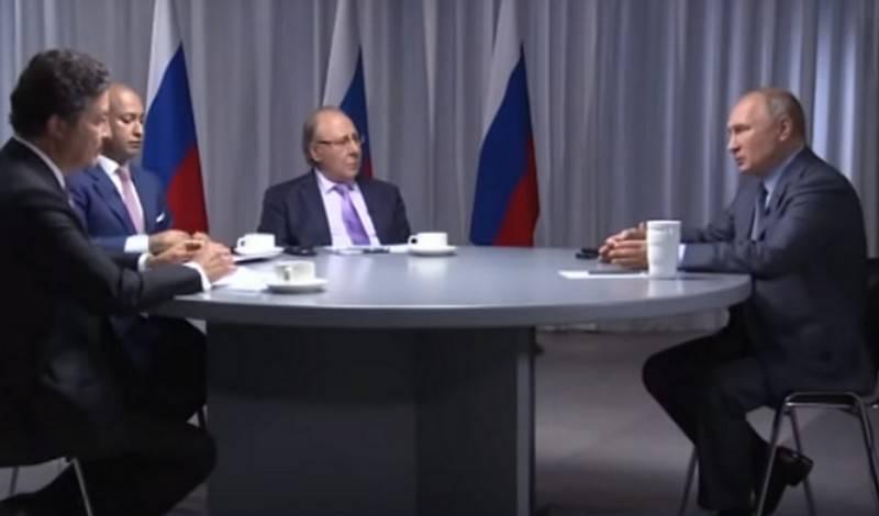 Путин: Когда у других стран появится новое оружие, России уже создаст другое