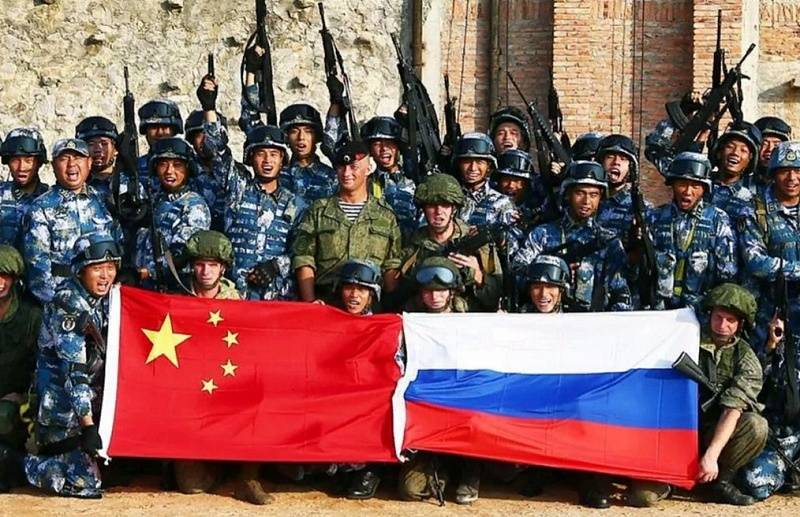 Losers and entrenched. Military Alliance of Russia and China becomes a reality