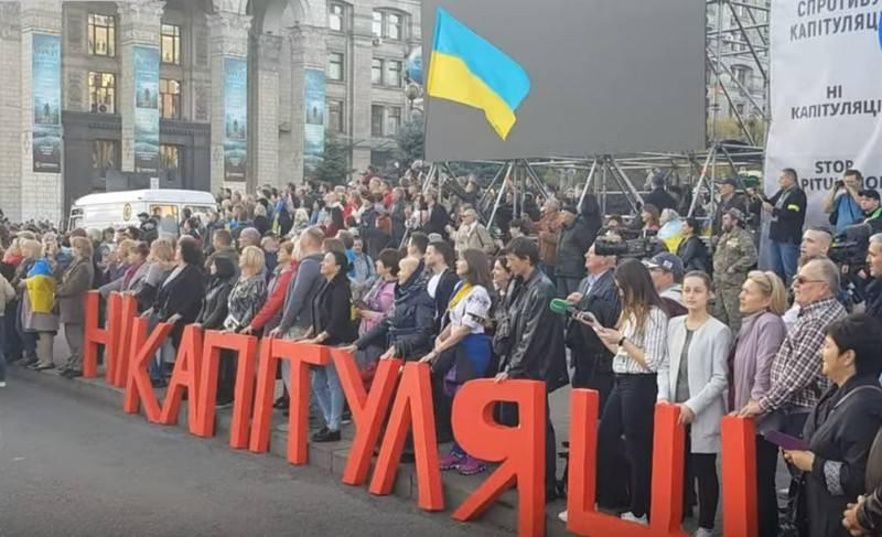Nacionalistas avançam ultimato de Zelensky
