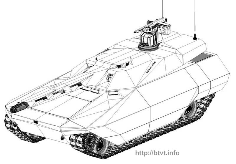 Conceito de tanque principal Rheinmetall Defense MGCS