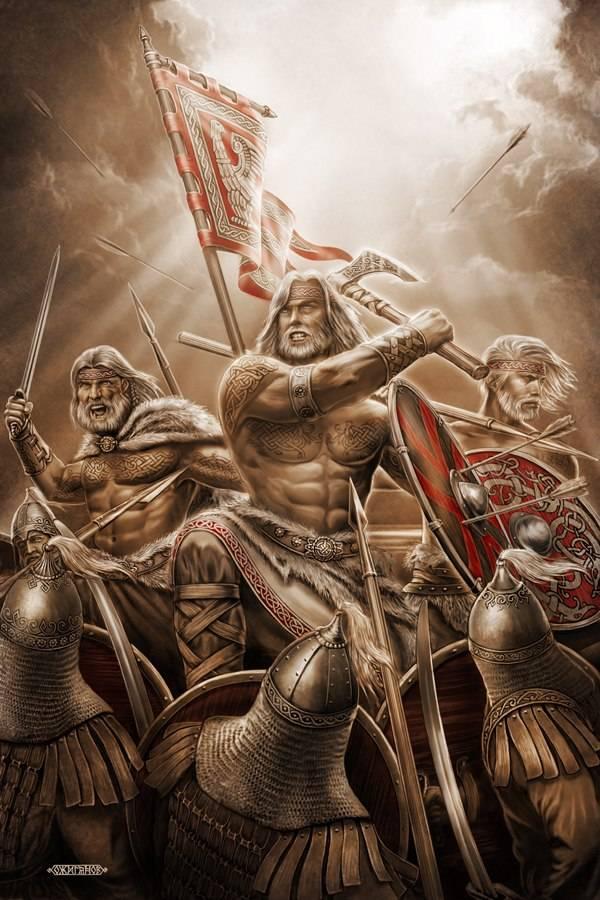 Русы на Каспии. Гибель русской армии на Волге