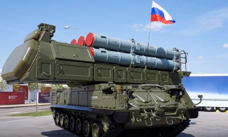 O sistema de defesa aérea de médio alcance do Partido Buk-M3 entrou em serviço no Distrito Militar Central