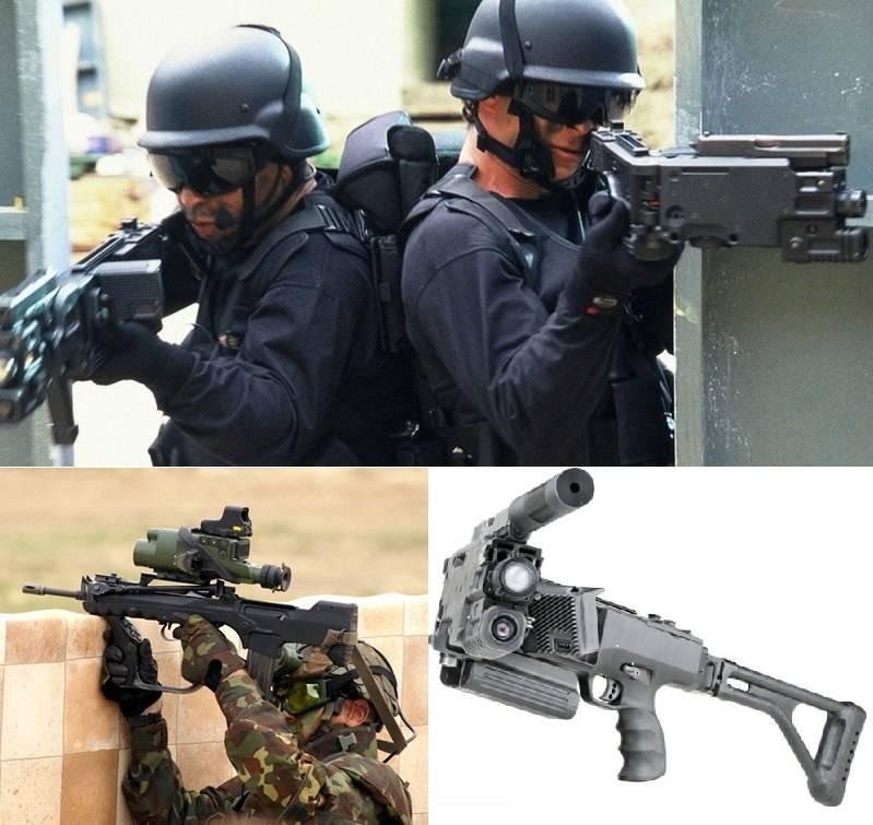 Kit mosquetão e acessórios para uma pistola promissora