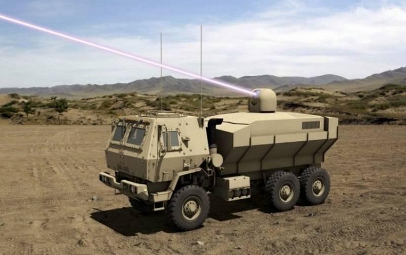 Die US-Armee bestellt die Entwicklung eines 250-300 kW-Kampflasers