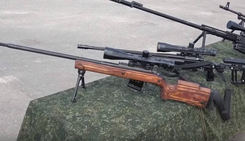In Russland begann die Entwicklung von Kleinwaffen für ein anderes Kaliber