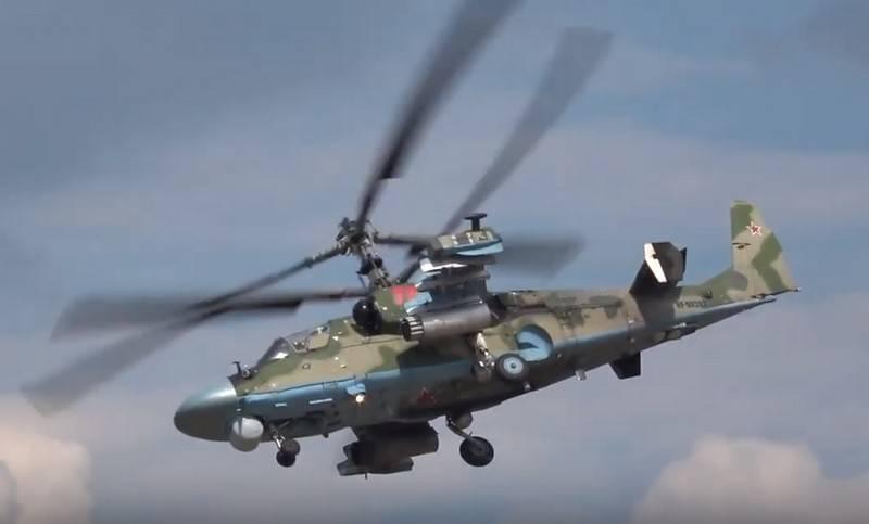 Oito tambores Ka-52 Jacaré serão entregues ao Ministério da Defesa até o final do ano