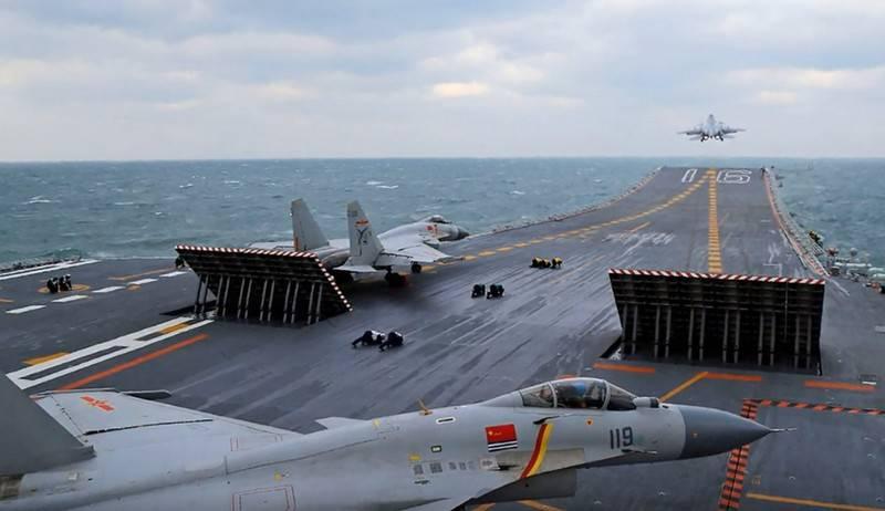 Porta-aviões chinês Type-001A entrou na oitava etapa dos testes