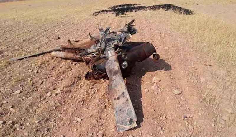 Турски F-16 унищожава собствен вертолет UH-60 Black Hawk в Сирия СНИМКИ