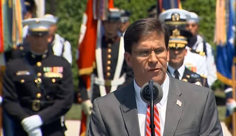 Der Chef des Pentagon sprach über die Pläne für den Abzug des US-Militärs aus Syrien