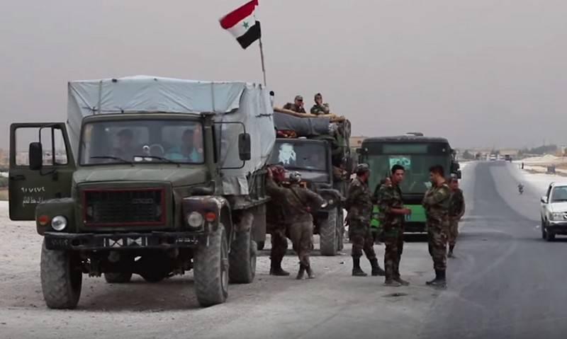 Amerikaner verließen den Flughafen in der Nähe der Stadt Ain al-Arab (Kobani)