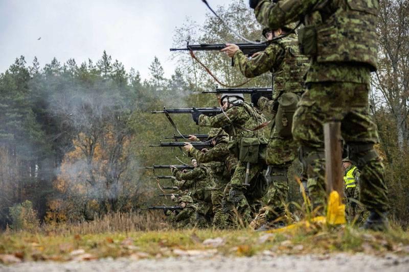 Über 14 Prozent der estnischen Reservisten ignorierten die Herausforderung der Übungen