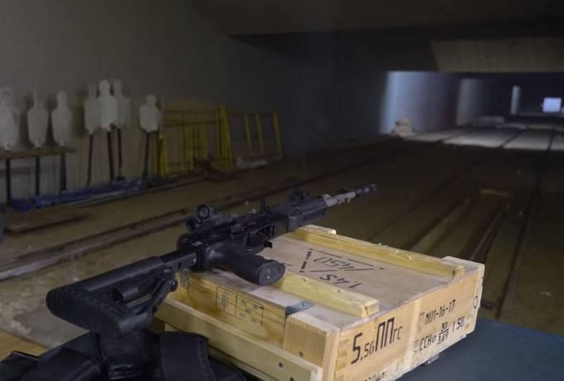 NATOカートリッジの下でAK-201をテストして、極端な条件に対する耐性を確認します