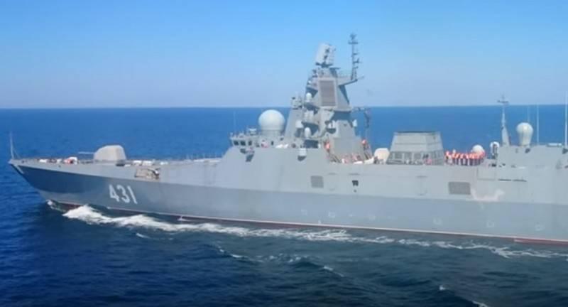 Testes estaduais da fragata Almirante Kasatonov começaram na Frota do Norte
