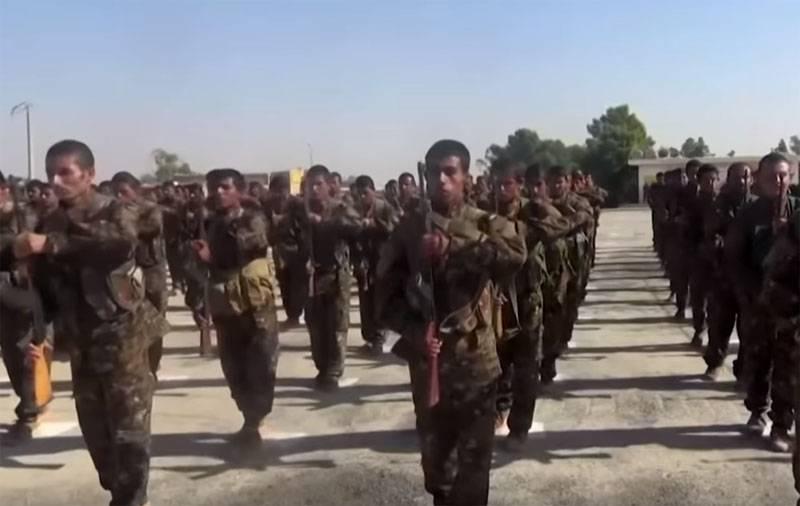Unidades curdas saem da zona 30-km no norte da Síria