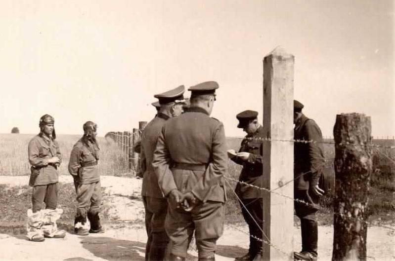 Informações sobre divisões alemãs de abril a junho de 1941