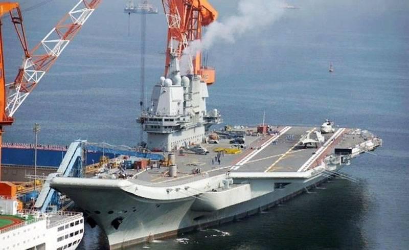 """Especialistas chineses estão preocupados em """"atrasar"""" o comissionamento do porta-aviões Type001A Shandong"""