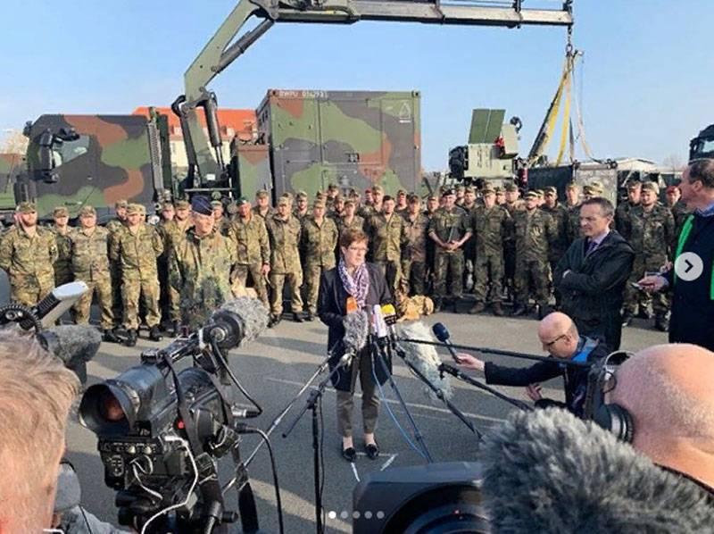 德国国防部长:土耳其吞并独立叙利亚的一部分