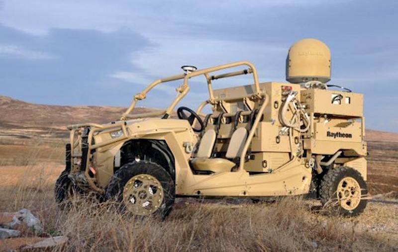美国空军获得了第一辆基于越野车MRZR的战斗激光