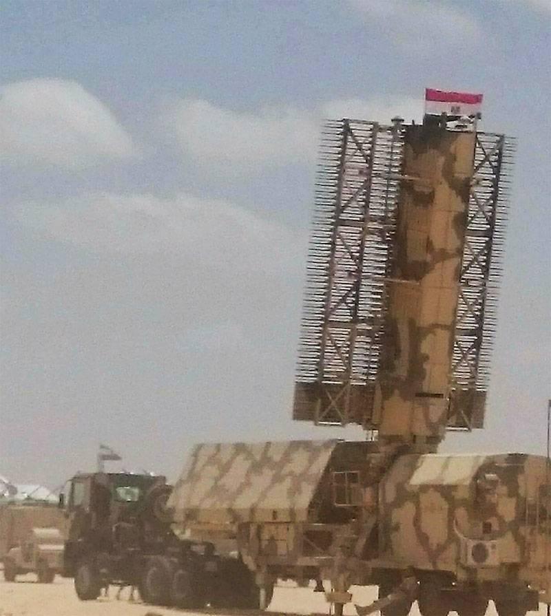 在埃及看到的对手GE移动三坐标雷达站