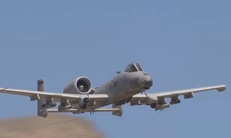 美国的A-10 Thunderbolt II攻击机将获得环绕声系统