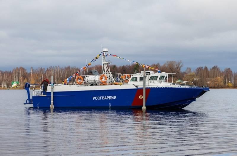 16 परियोजना की दो नई नौकाओं BK-02510 ने रूसी गार्ड के साथ सेवा में प्रवेश किया
