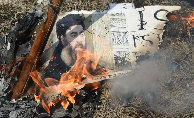 """संयुक्त राज्य अमेरिका में """"आईजी"""" अबू बक्र अल-बगदादी के नेता के संभावित परिसमापन की घोषणा की"""