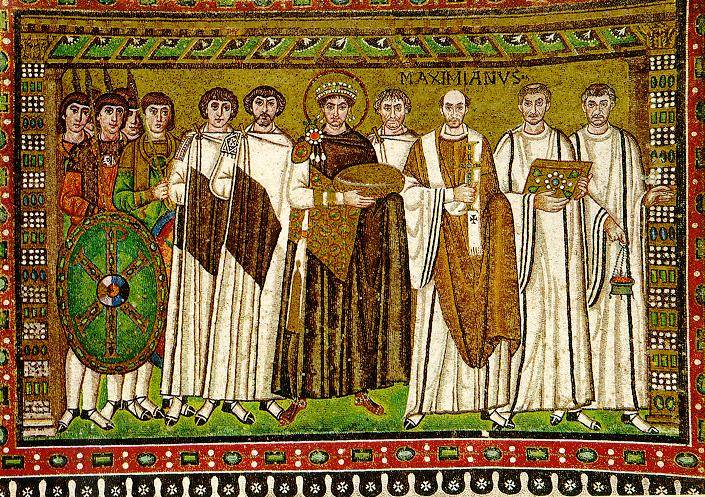 Byzantine army under the Emperor Justinian. A few words about the interesting