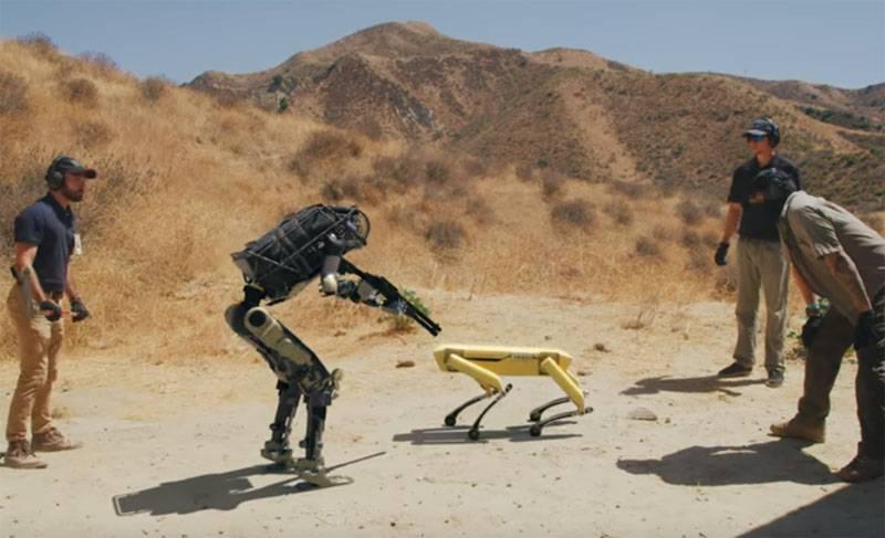 Robot-Shooter-Rebellion: Boston Dynamics-Video online verspottet