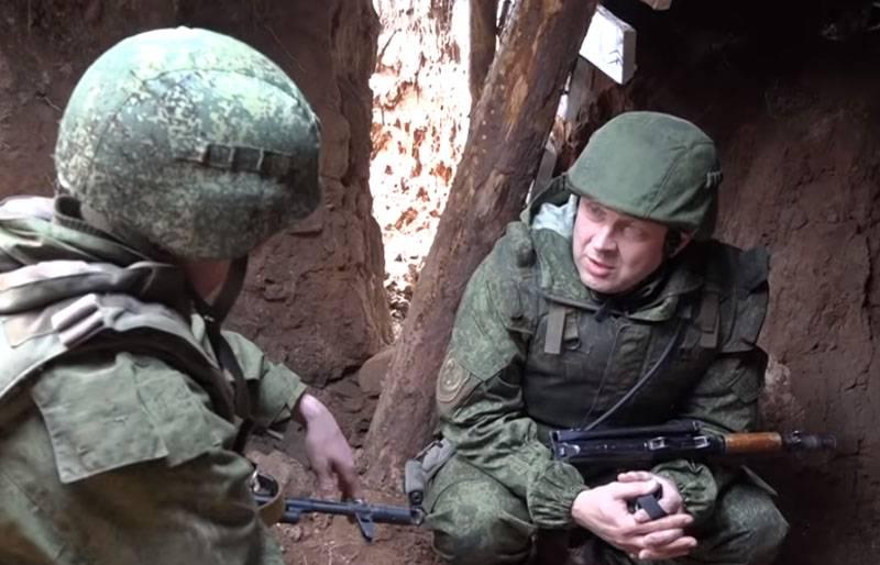 Alexander Sladkov: compte rendu des tranchées du Donbass